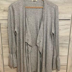 Style & Co. women's bell sleeve draped cardigan